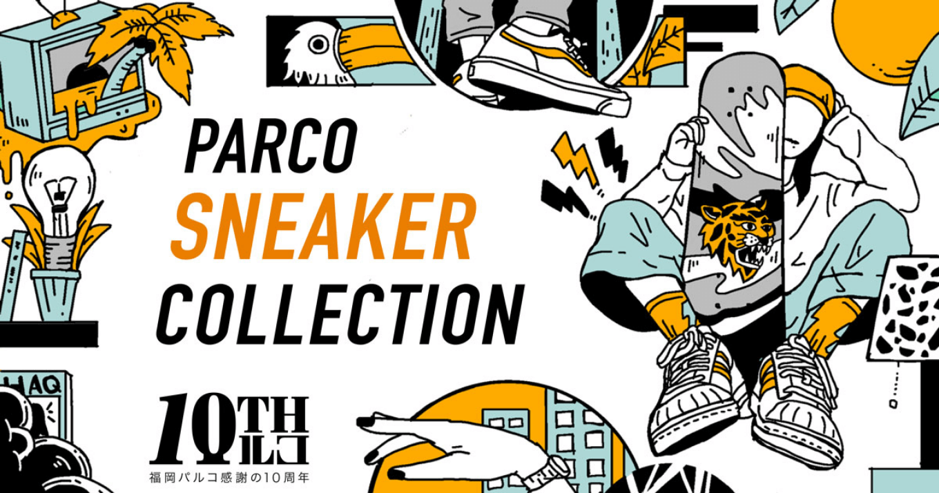 SNEAKER COLLECTION│福岡PARCO